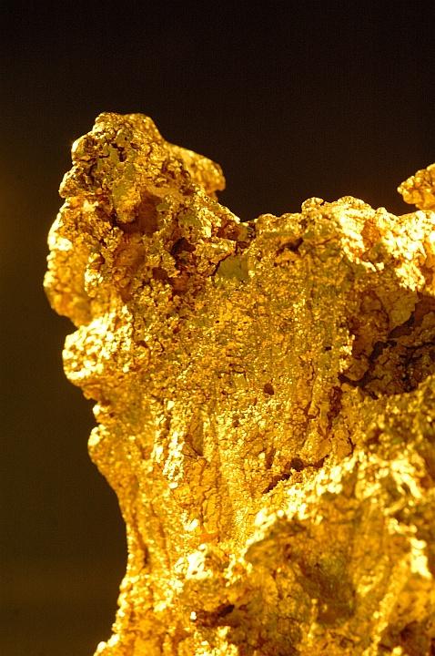 Gold. Kalgoorlie, Western Australia