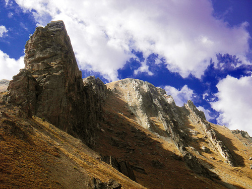 Shahrestanak, the mountain