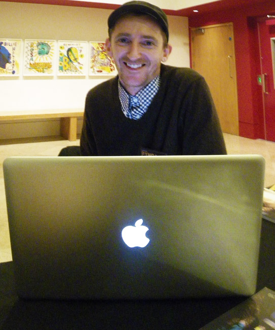 Smiling Apple User