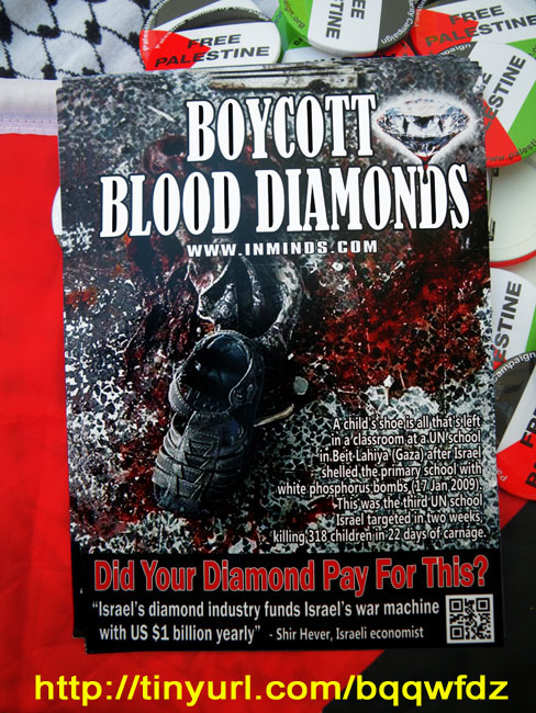 Boycott Blood Diamonds