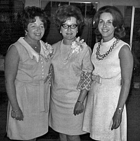 Mom  ( On Far Right)and Cousins  Peggy and Linda ( 1966)