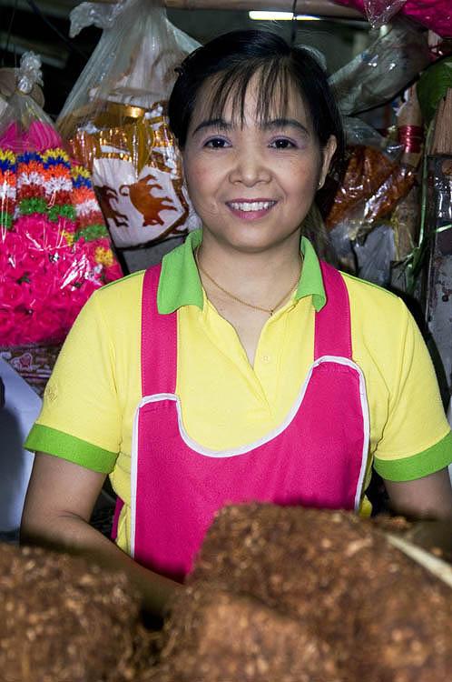Market vendor, Chiang Mai