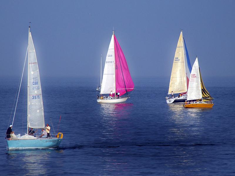 Sailing Boats at Guernsey
