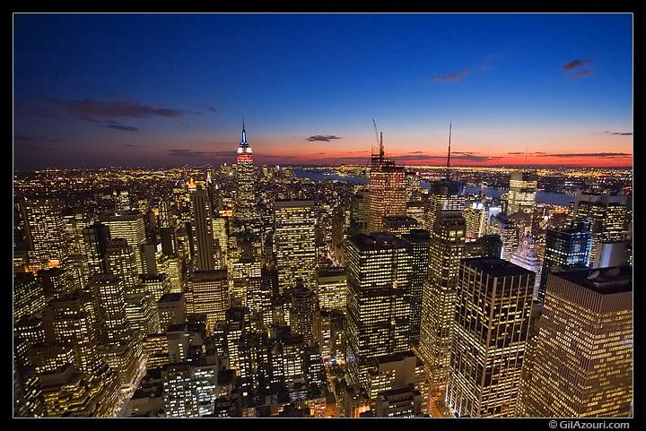 Manhattan at Dusk