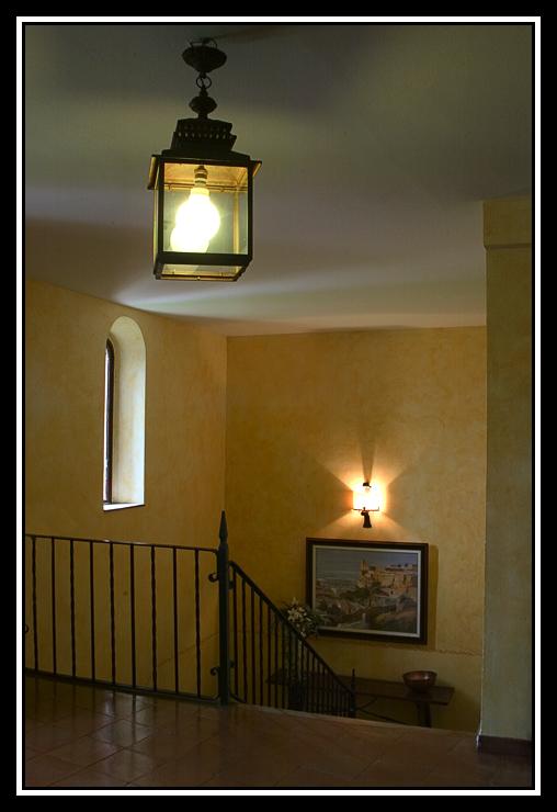 Escalera en el Parador  -  Stairway in the Parador