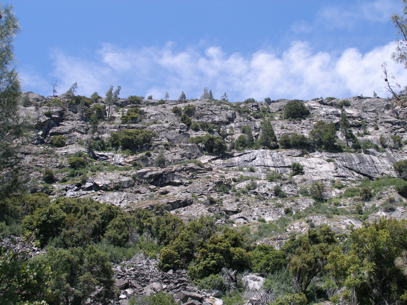 Hetch Hetchy Mountain Ridge