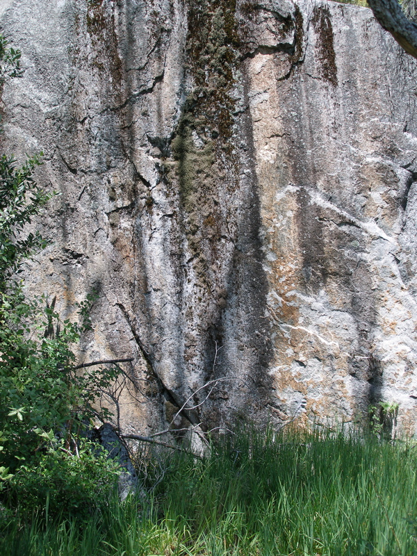 Yosemite Valley cliff wall