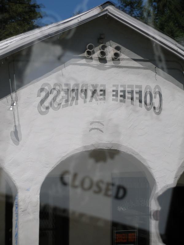 Groveland Window Reflection
