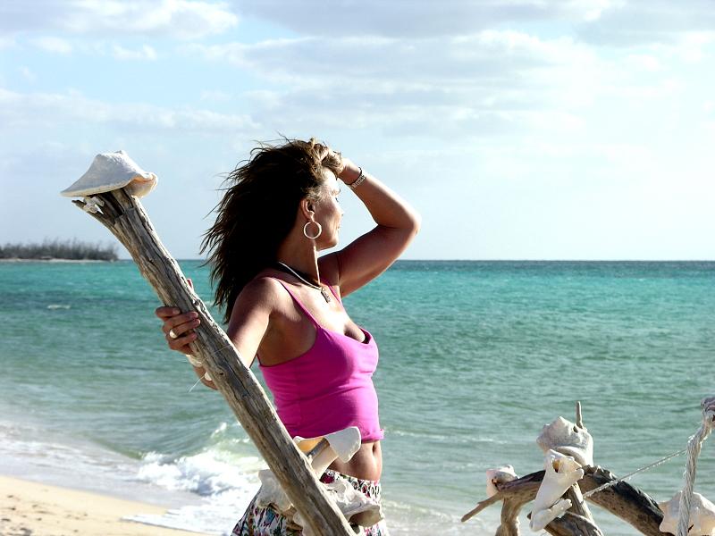 At a Cozumel Beach