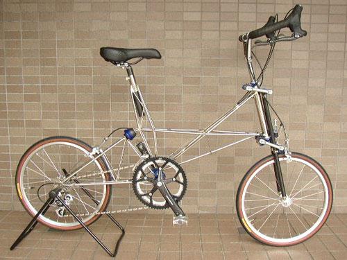 Vélo très pliant...