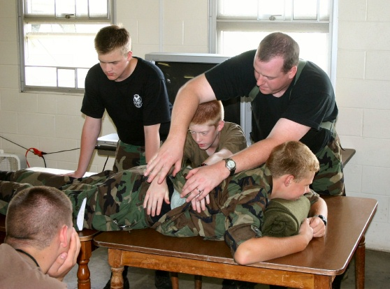Learning how to move the injured