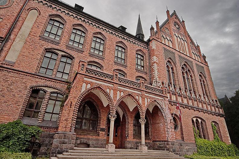 riga, college building