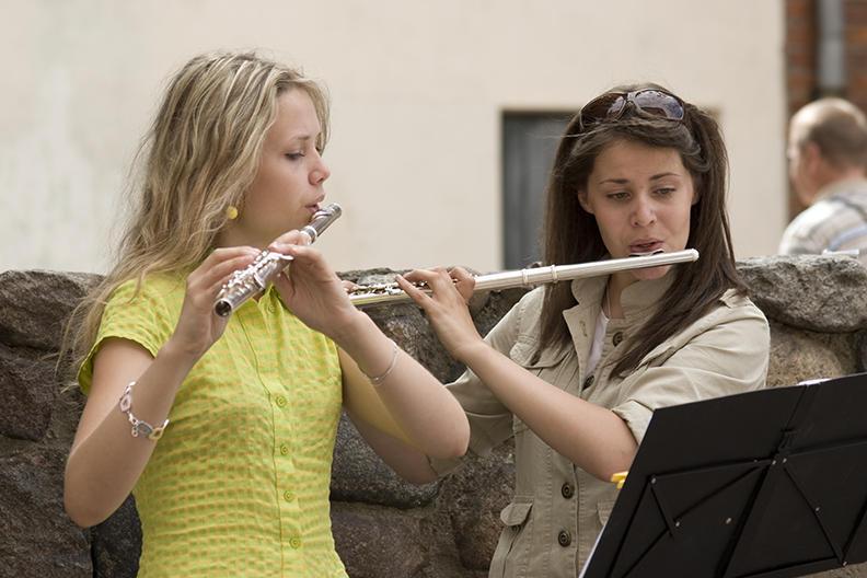 riga, music students