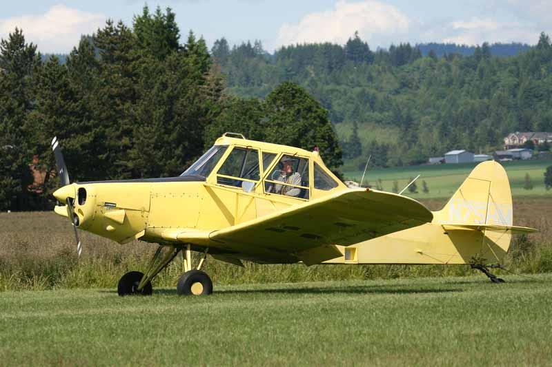 PA-25 Pawnee Two Holer (N75HM)