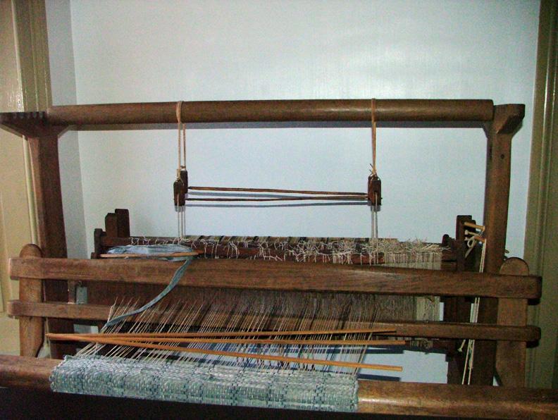 Loom inside Cove Fort Utah