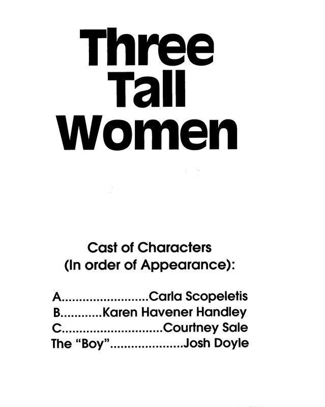 Three Tall Women