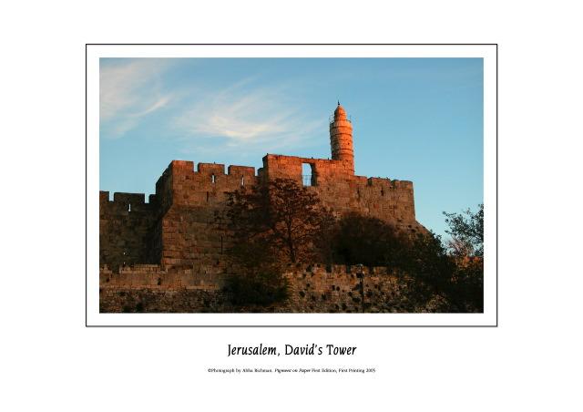 Davids Tower, Jerusalem