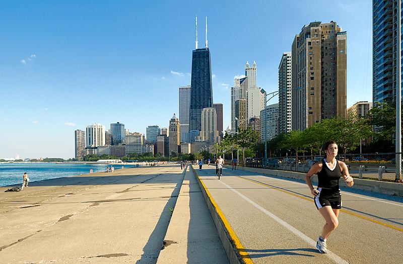 Chicago in  3-D