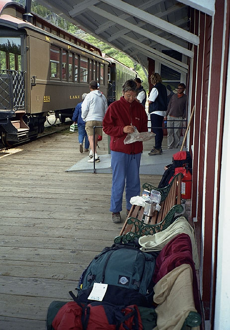 Bennett WP&YR station
