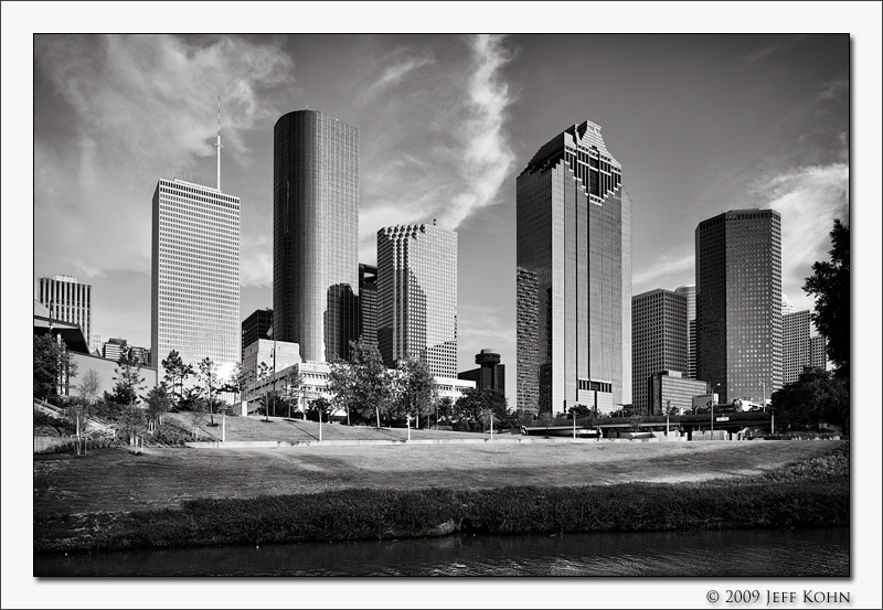 Downtown from Buffalo Bayou 1