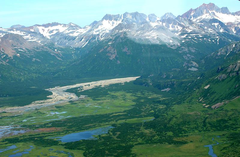 View of Katmai N.P.
