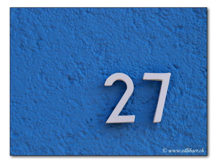 twenty-seven / siebenundzwanzig (3419)