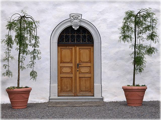 castles door / Türe der Burg Zug