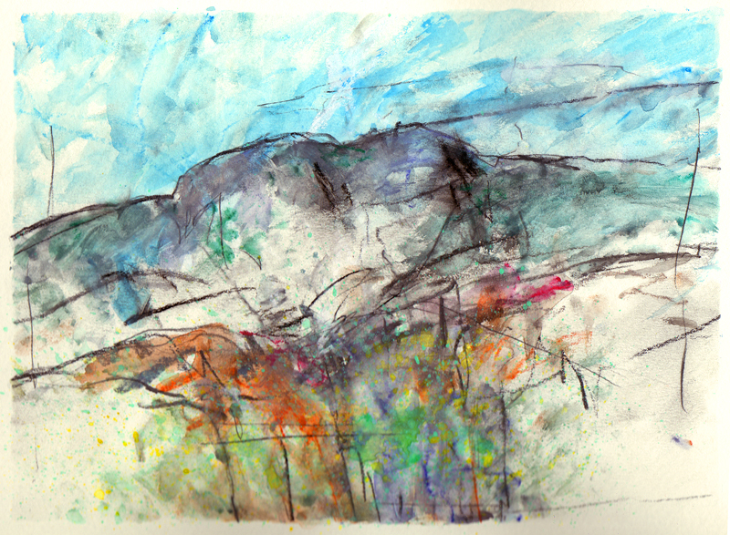 Sketches from Greenland 1