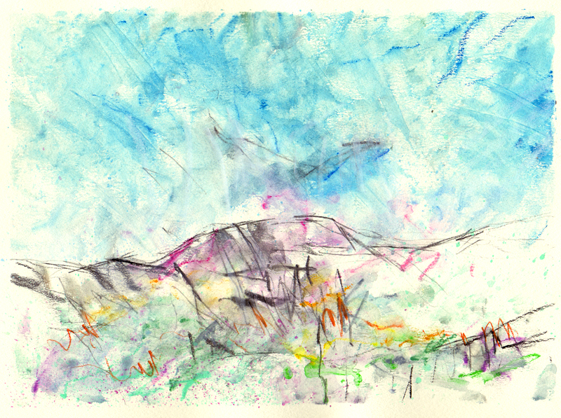 Sketches from Greenland 8