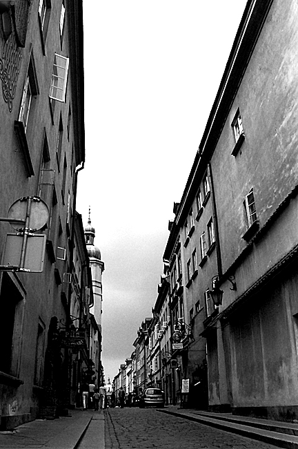 Street, Old Town area