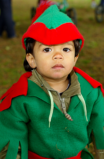 This is how Robin Hood looked like, when he was a kid :o)