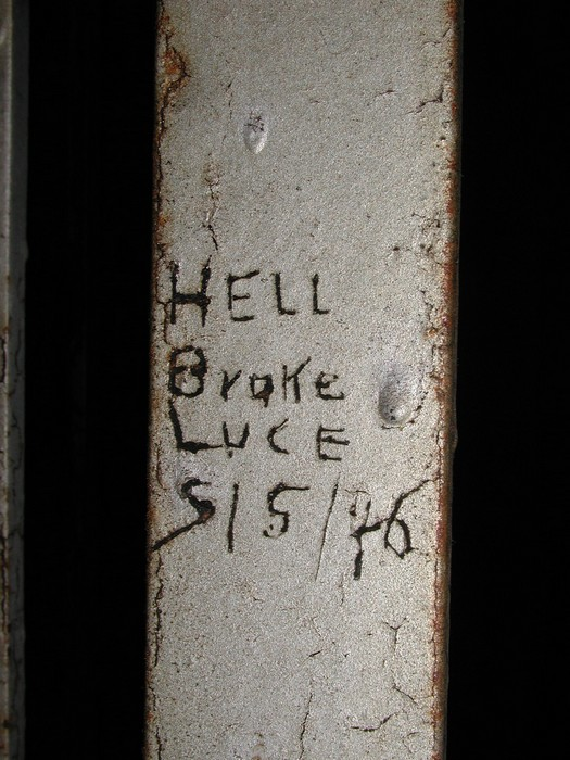A Block, Cell 23 -- Hell Broke Luce 5/5/46