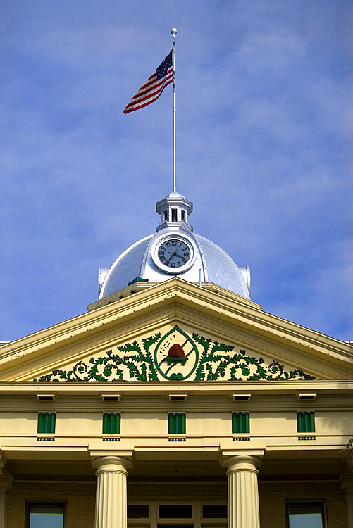 Dome on Courthouse