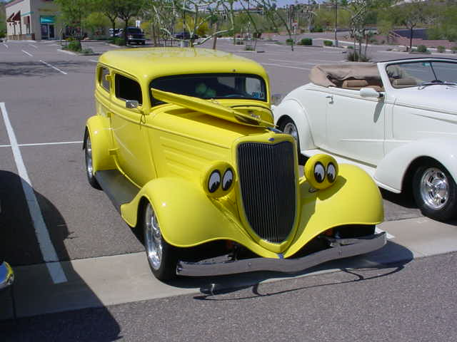 yellow Bonnie & Clyde