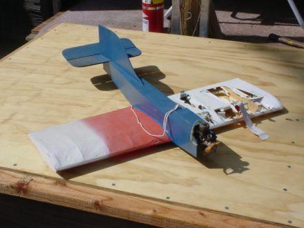 home built airplane