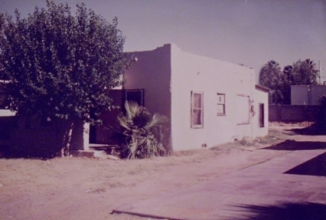 old house at <br> 809 E Mitchell