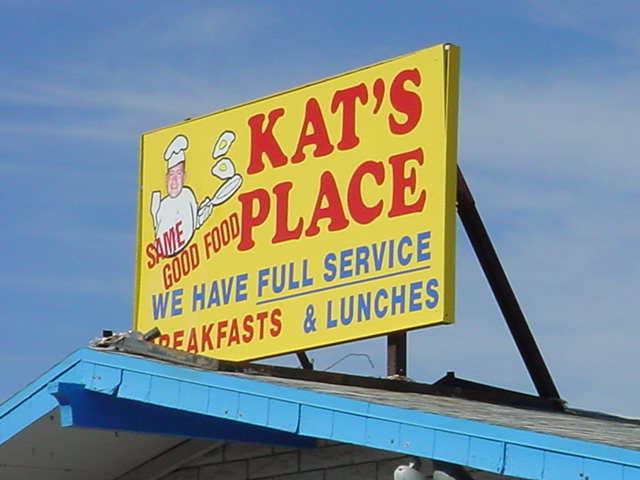 Kats Place <br>SAME GOOD FOOD <br> 480-854-4815