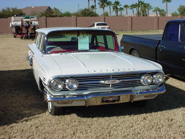 1960 Chevy Nomad 283 V8