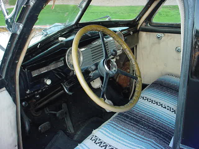 1948 Chevrolet <br> Style Master interior