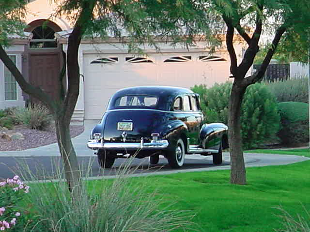 1948 Chevrolet <br> Style Master 4 dr