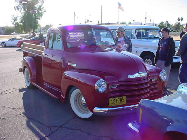 1947 Chevy Pickup<br> Honeywell parking lot