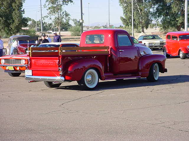 1947 Chevy <br> 3100 pick up truck