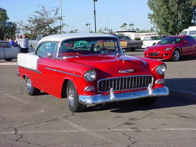 1955 Chevrolet <br>2005 Wickenburg run