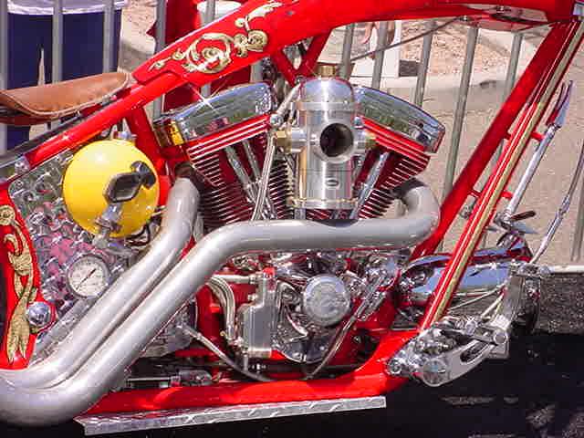 custom chopper motor