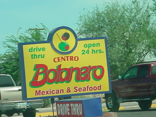 Centro Botanero<br>tel. 480-610-0851