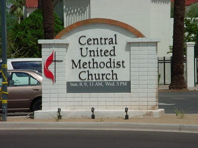 Central United<br>Methodist Church<br>Phoenix Arizona