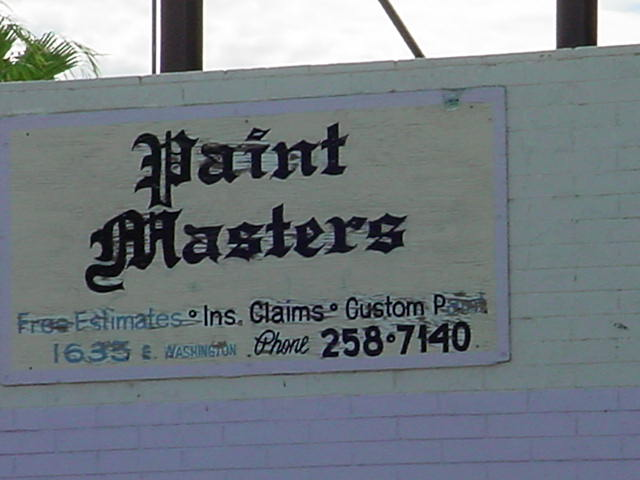 Paint Masters<br>602-258-7140