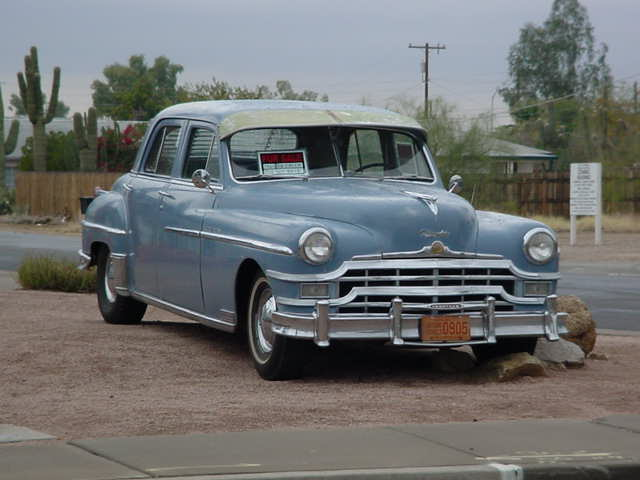 1949 Chrysler<br>New Yorker 4 door