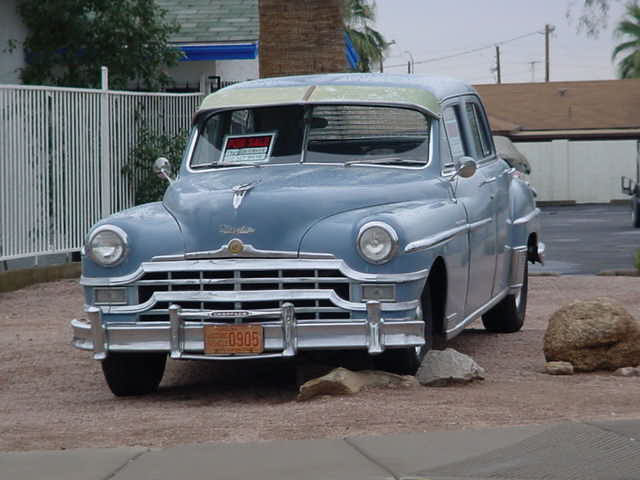1949 Chrysler<br>New Yorker wheel