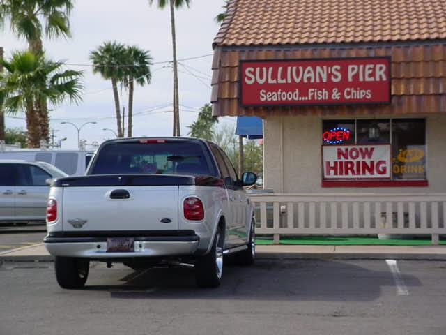 Sullivan's Pier car show